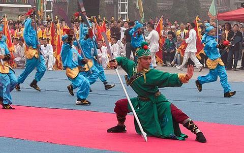 感受梁山国际水浒文化节