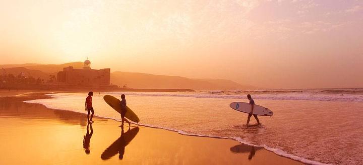 playa de las canteras旅游图片