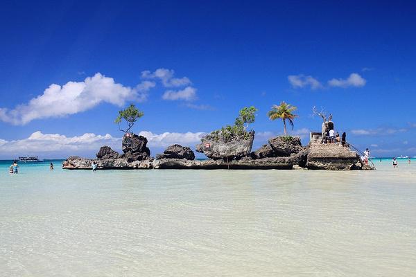 圣母礁岩旅游图片