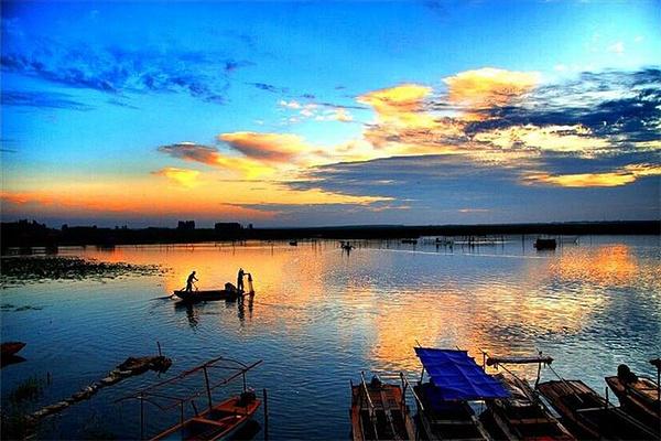 白洋淀景区旅游图片