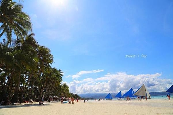 白沙滩旅游图片