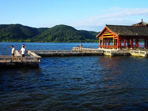 磁湖风景区旅游景点图片