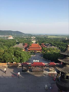 灵山胜境风景区旅游景点攻略图