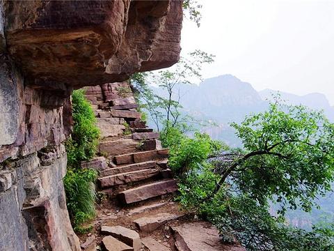 郭亮天梯旅游景点图片