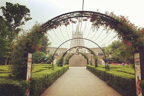 婚庆公园的图片