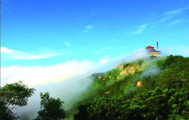 沂蒙山旅游区沂山景区旅游图片