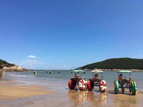 松兰山海滨浴场旅游景点图片