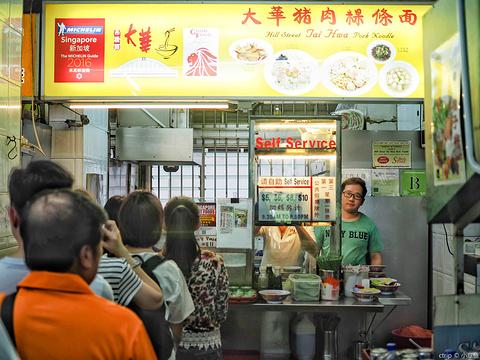 大华猪肉粿条面