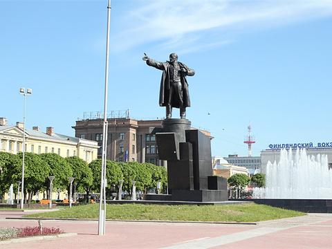 圣彼得堡列宁广场旅游景点图片