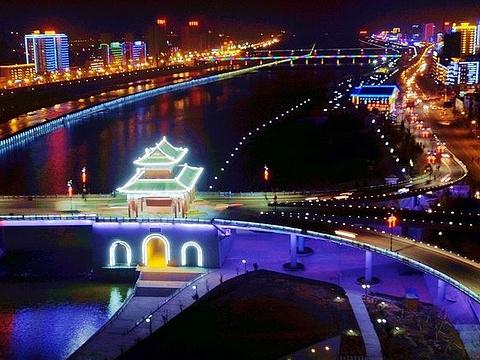 渭河风情线旅游景点图片