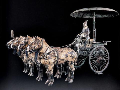 铜车马展厅旅游景点图片