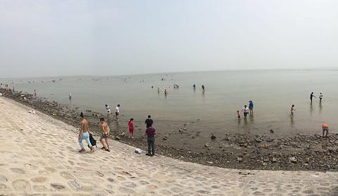 海滨浴场的图片