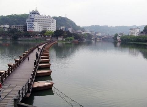 五通桥风景区