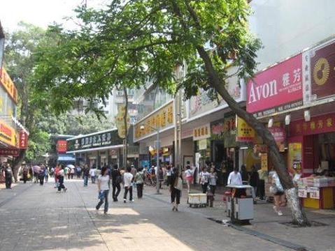 珠海莲花路步行街