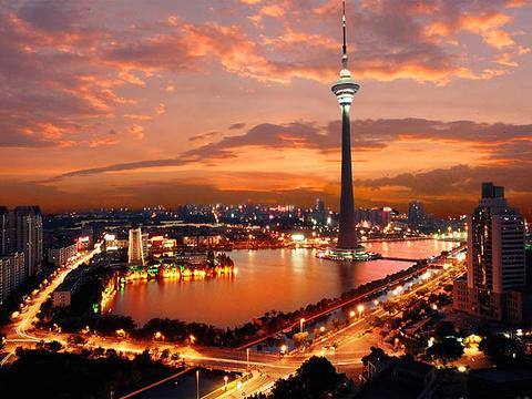 天津广播电视塔(天塔)旅游景点图片