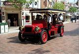 小镇大街古董车