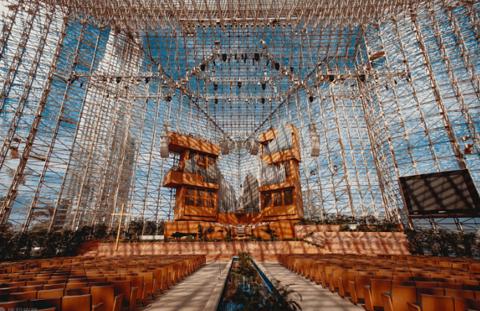 洛杉矶水晶大教堂的图片