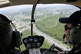 乘直升机游览莫斯科
