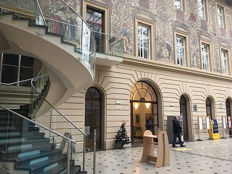 捷克中央邮局旅游景点图片
