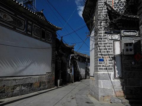 喜洲民居旅游景点图片