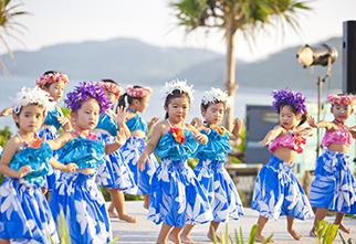 久米岛夏威夷风情节