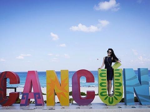 Cancun Sign旅游景点图片