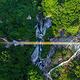 木兰天池跨山玻璃天桥