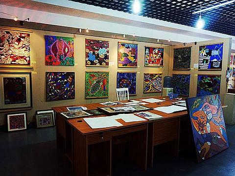 东极渔民画厅旅游景点图片