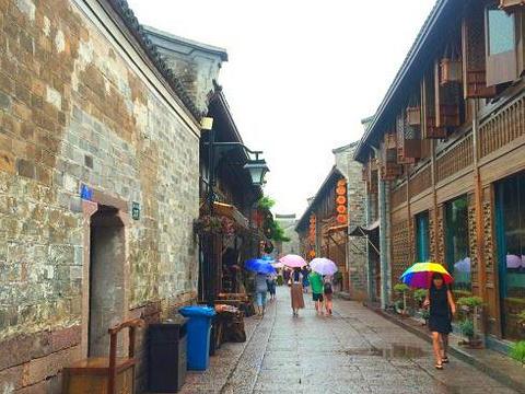渔村老街旅游景点图片
