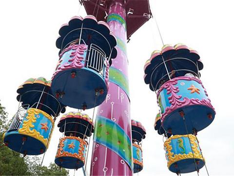跳伞塔旅游景点图片
