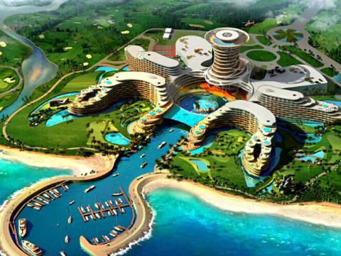 龙沐湾国际旅游度假村旅游景点图片
