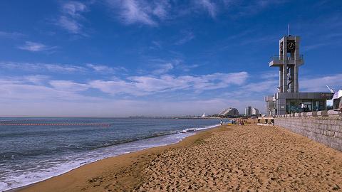 日照金沙滩浴场的图片
