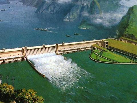 三峡大坝旅游景点图片