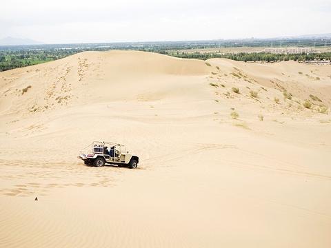 张掖国家沙漠体育公园旅游景点图片