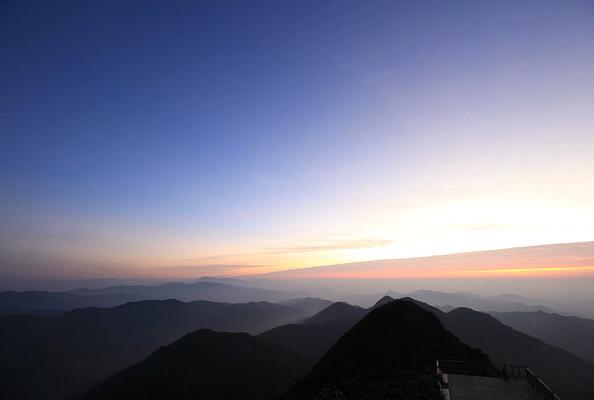 尖峰岭旅游图片