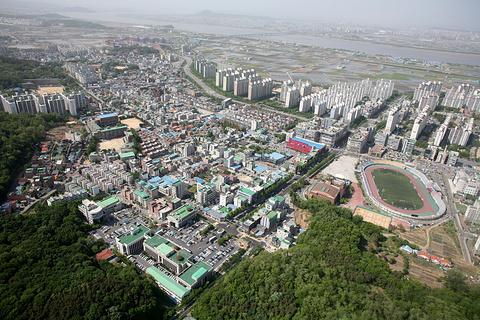 金浦市旅游图片