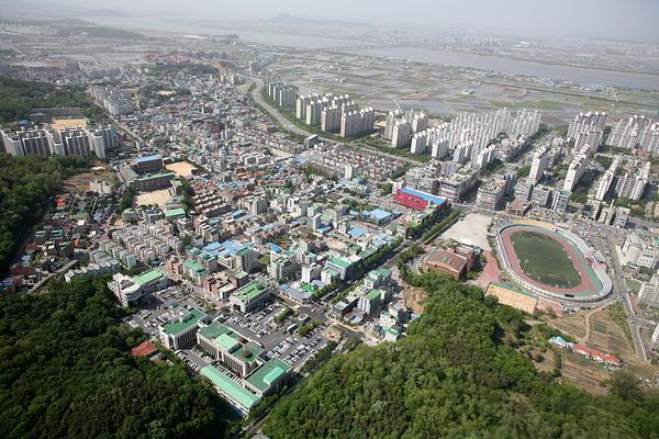 金浦市旅游景点图片