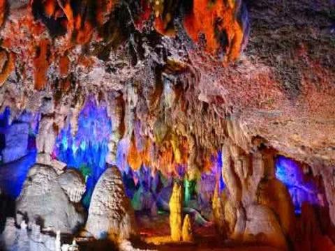 地下倒石林旅游景点图片