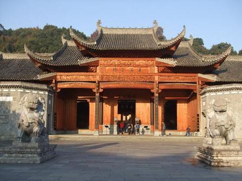萧江宗祠的图片