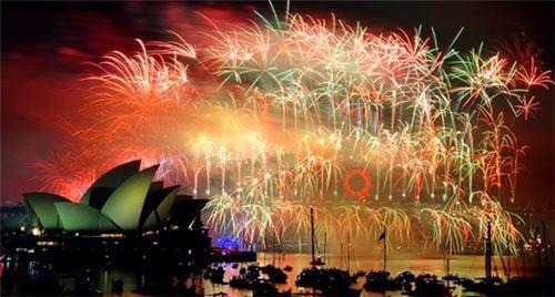 新年焰火表演