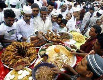 开斋节 (Ramazan Bayram, eker Bayram)