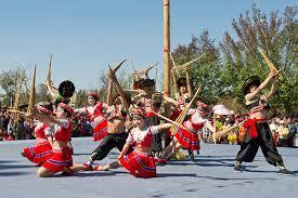 云南苗族花山节