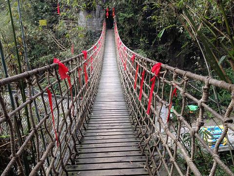 阿依河天梯旅游景点图片