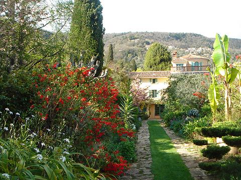 法兰西堡别墅花园旅游景点图片