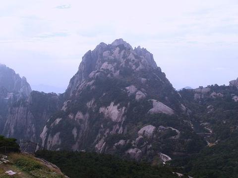 莲花峰的图片
