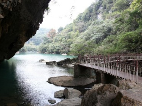 鹿寨香桥岩溶国家地质公园旅游景点图片