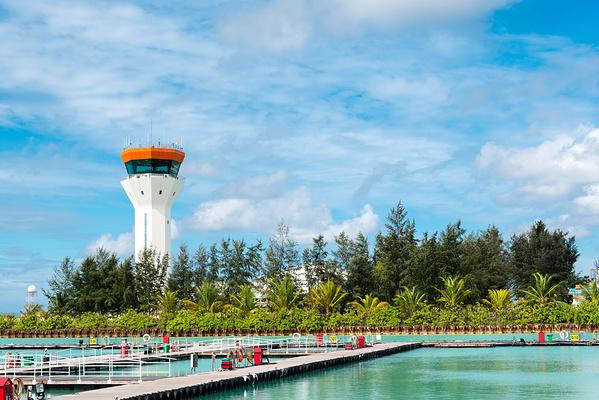 马累机场Hulhule岛旅游景点图片