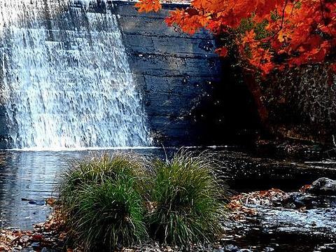 晶帘瀑布旅游景点图片