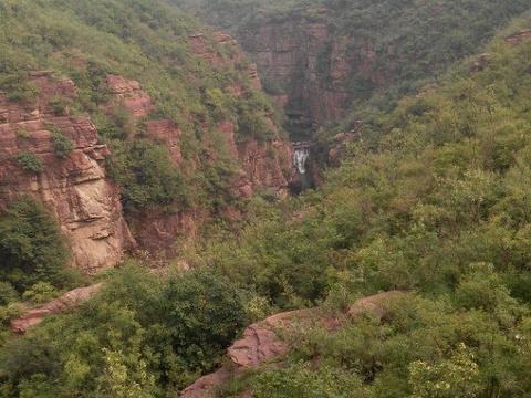 云台天瀑旅游景点图片