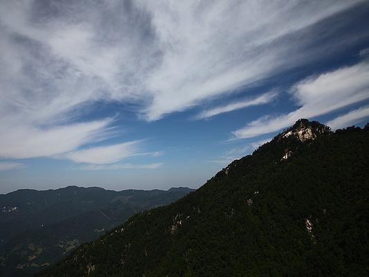 大别山景区旅游景点图片